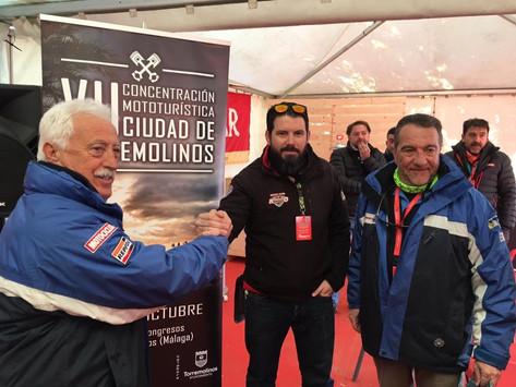 Presentación y firma de convenio de colaboración con Club Turismoto (Valladolid)