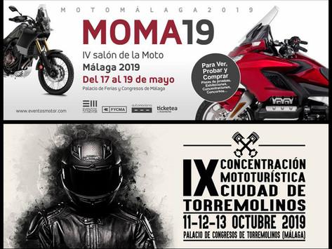 Promoción en el Salón de la Moto-Málaga