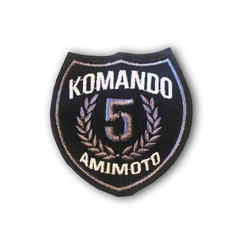 Parche 5 años Plata Komando Amimoto