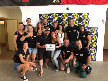 """Premio al Moto Club con más inscritos en """"A escape libre""""."""