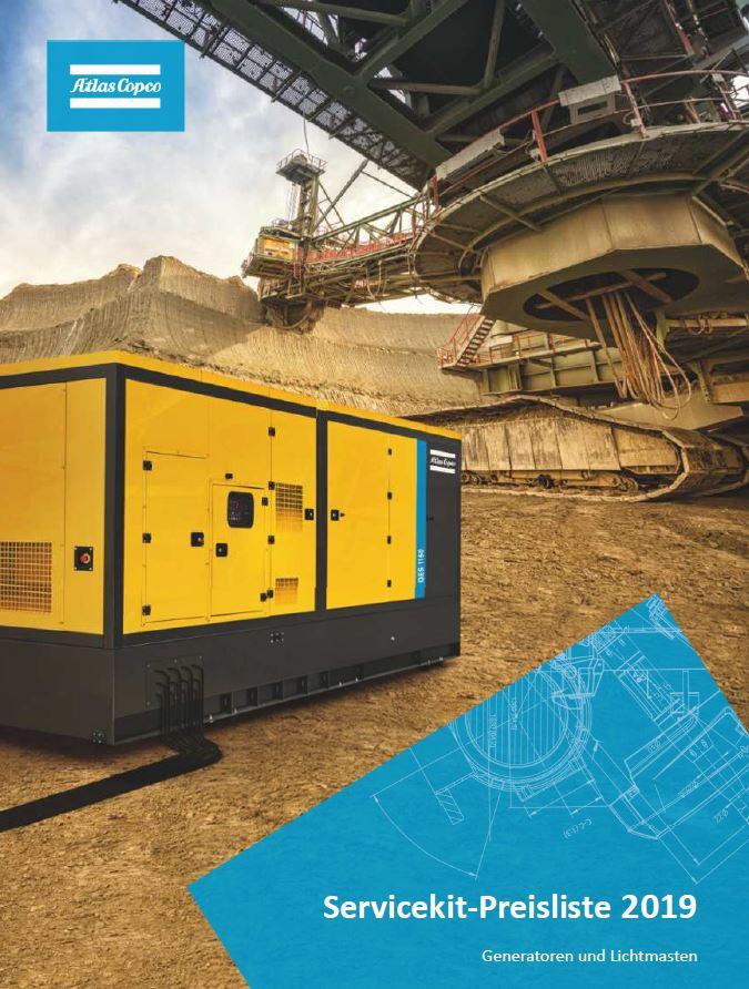 Service-Kit Preisliste Stromerzeuger & Lichtmasten