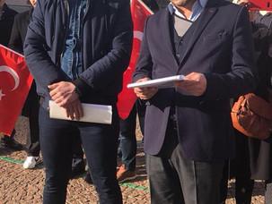 """Zeytin Dalı Harekâtı""""-İsviçre UETD Basın Açıklaması"""