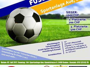 4.Geleneksel Futbol Turnuvası /  Traditionelle 4. Fussball Turnier