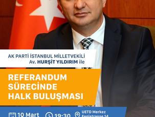 Referandum Sürecinde Halk Buluşması
