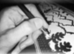 """Découpage """"sous les étoiles"""" (Doris Henchoz), Swiss Cut Design,Le monde du découpage,papier découpé,vinyls,Vevey,CH"""