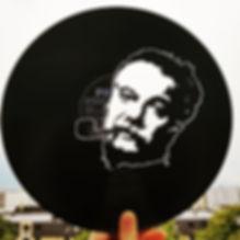 #vinyl découpé#Découpage vinyl#Swiss Cut Design#Swisscutdesign.org#Vevey#Suisse#variétéfrançaise#GeorgesBrassens#Brassens#Vinylart#vinylcuttingart#vinylcutting#Artisanal#Exposition