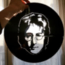 #vinyl découpé#Découpage vinyl#Swiss Cut Design#Swisscutdesign.org#Vevey#Suisse#LesBeattles#JohnLennon#Vinylart#vinylcuttingart#vinylcutting#Artisanal#Exposition
