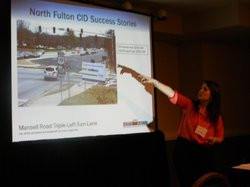 Kristin Rome Presents North Fulton CID Success Story At International Conference in Las Vegas