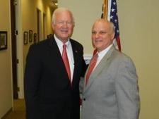 NFCID Sponsors Chamber Luncheon with Senator Saxby Chambliss