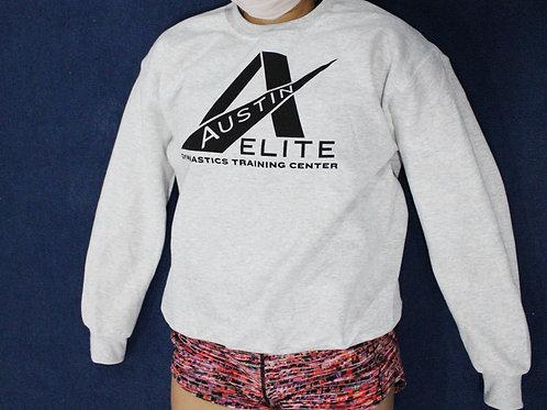 Adult Sweatshirt: Light Grey