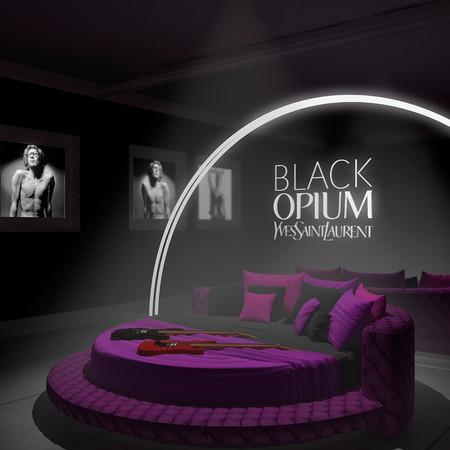 Lançamento perfume Black Opium