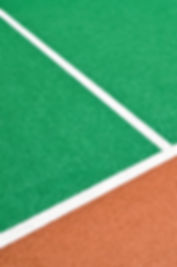 Synthetic Turf Field close up
