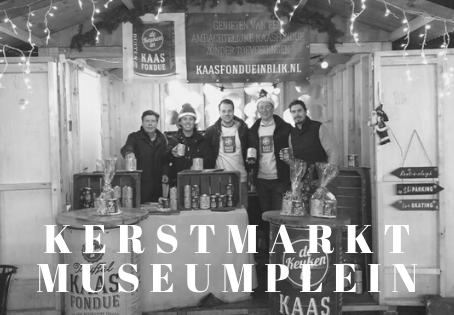 Kaasfondue in blik @ Kerstmarkt Museumplein
