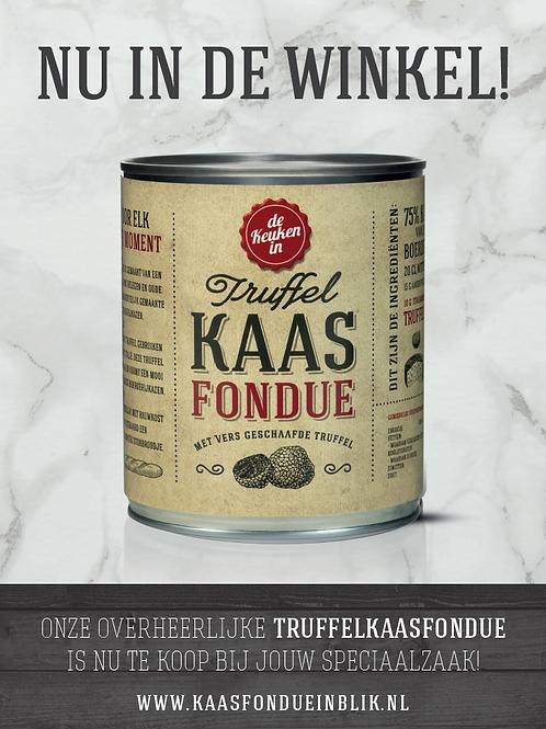 A1 poster Truffelkaasfondue