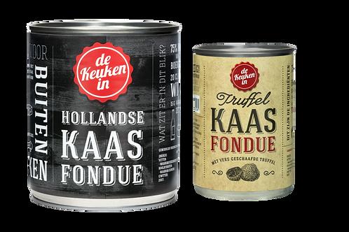 Combi Hollandse + Truffelkaasfondue