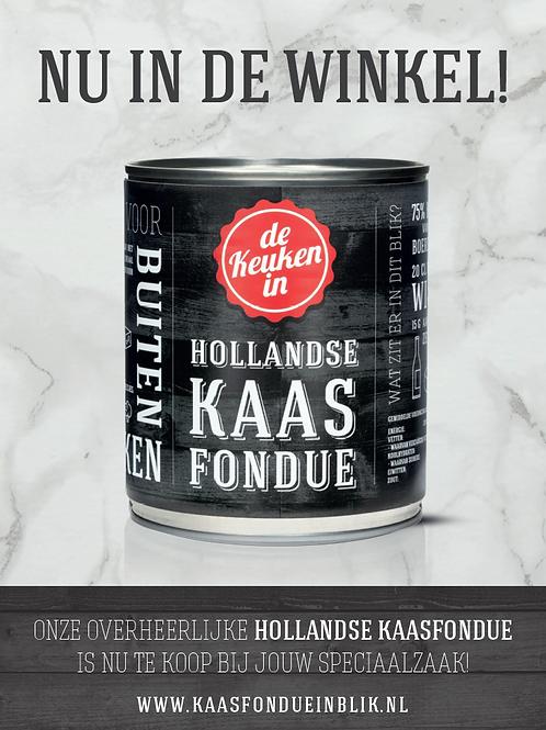 A1 poster Hollandse kaasfondue