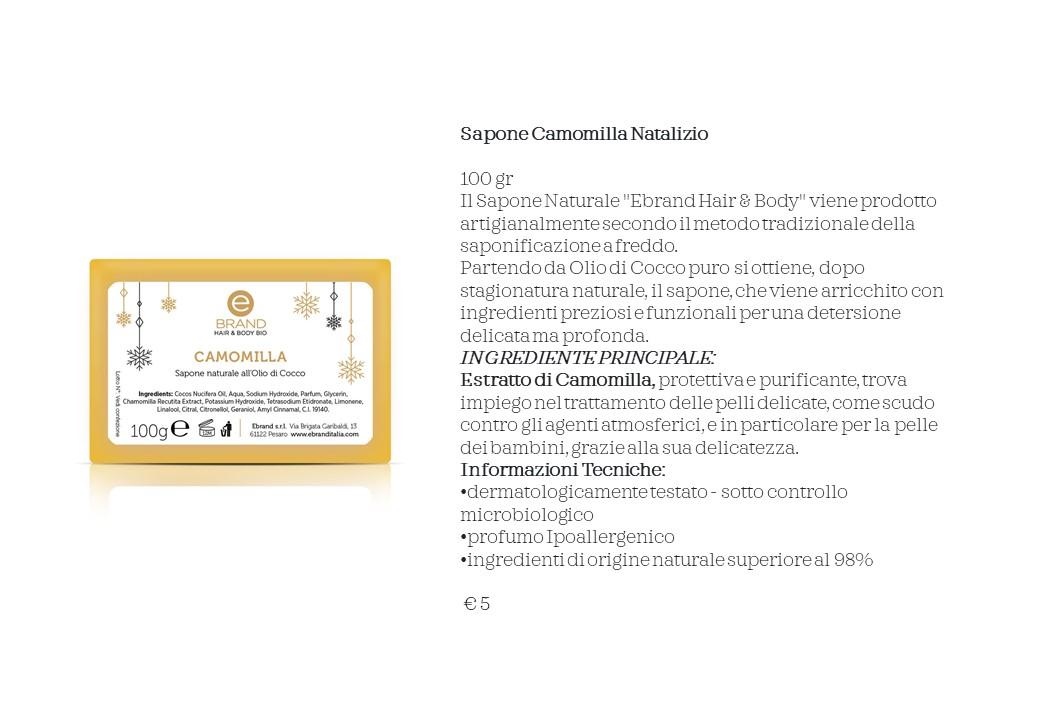 Sapone Camomilla Natalizio