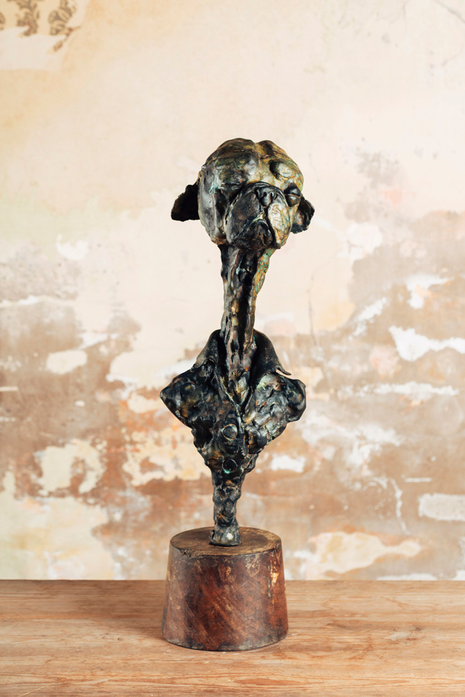 Bronze sculpture by Simon Vazquez
