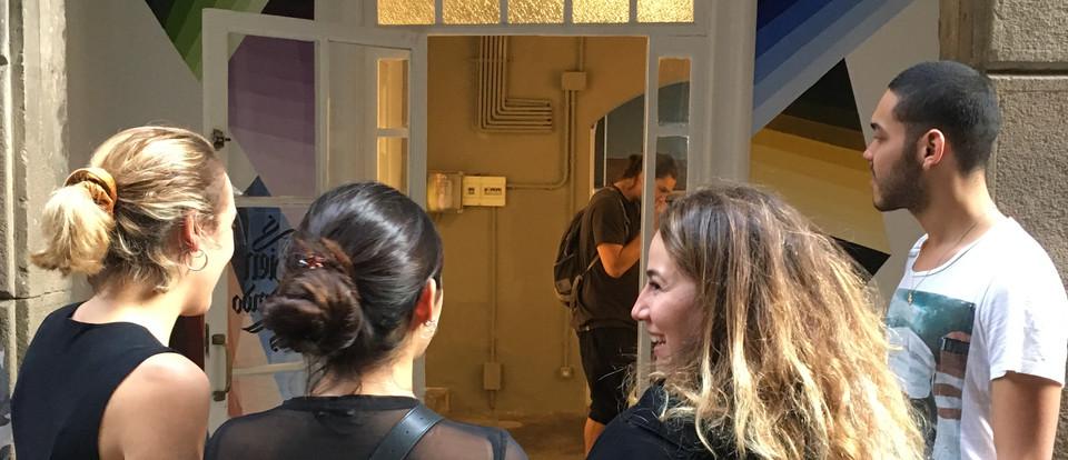 Alessia Innocenti design at entrance