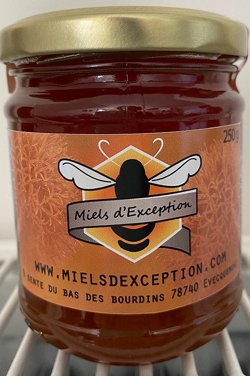 Miel de Framboisier, Myrtille et Fleurs Sauvages 250g