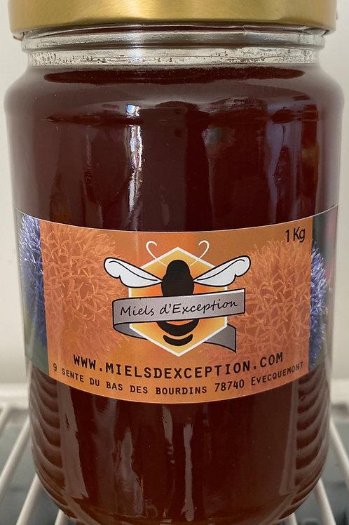Miel de Framboisier, Myrtille et Fleurs Sauvages 1kg