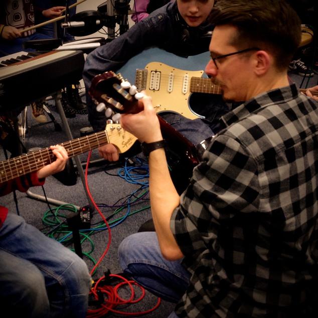 Live band workshop