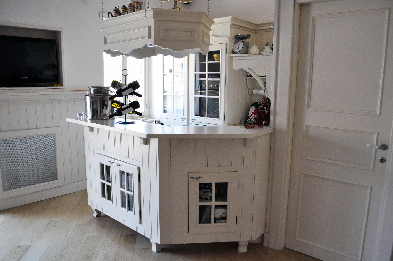 cucina su misura stile shabby chic falegnameria roma