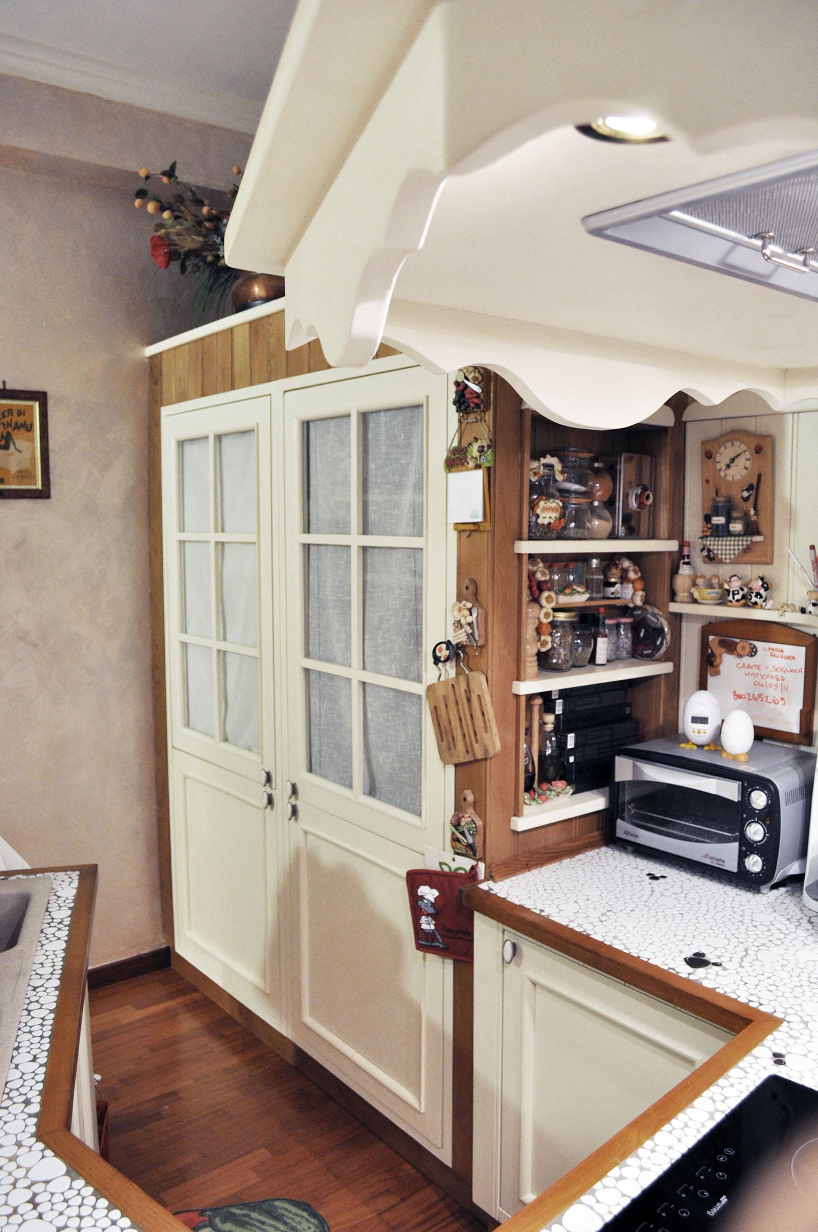 cucina stile country su misura roma falegnameria 2