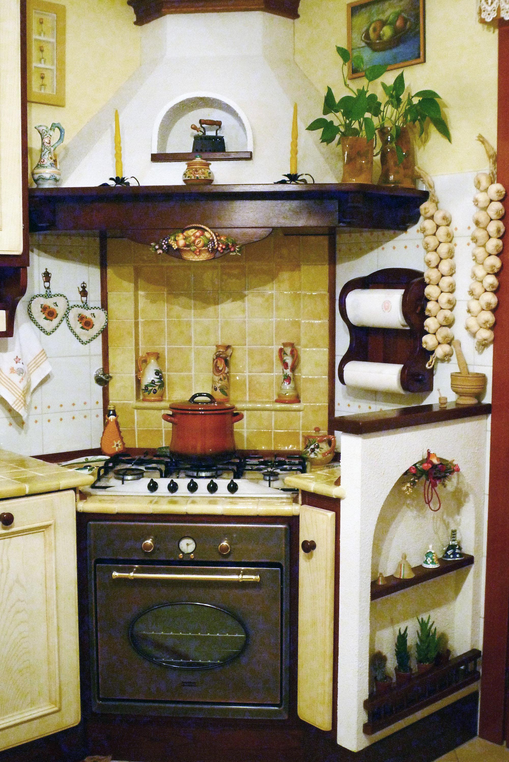 cucina su misura stile country falegnameria roma 3