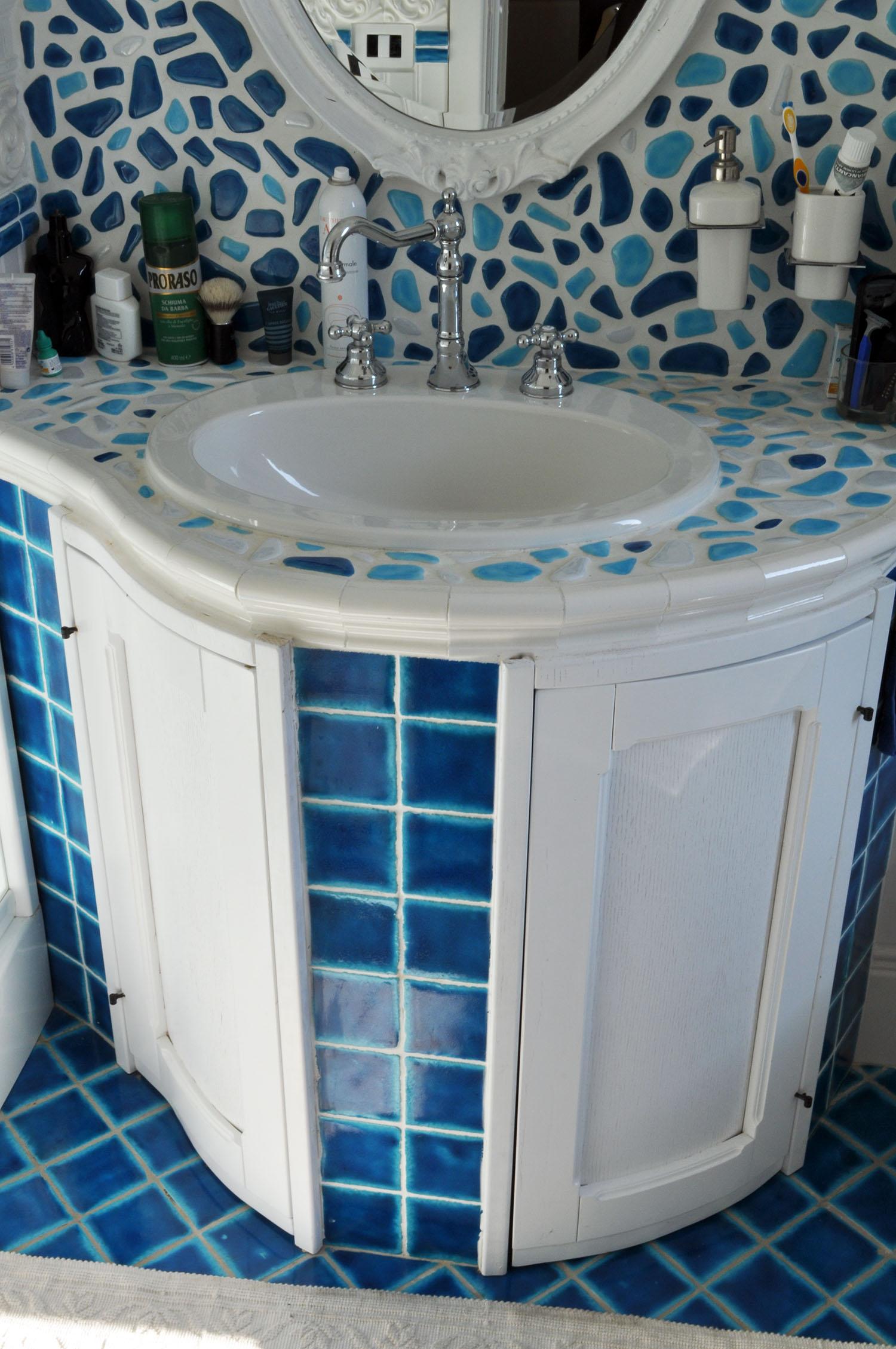 bagno su misura roma falegnameria 3