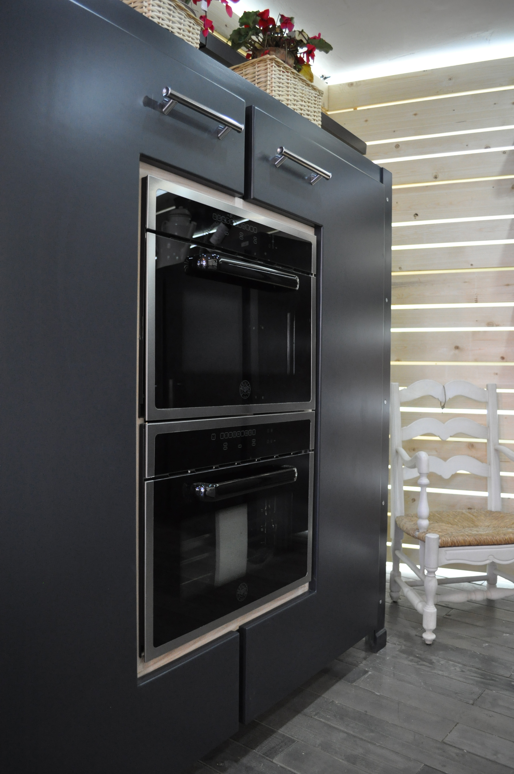 Cucina su misura Industrial-Falegnameria roma_3