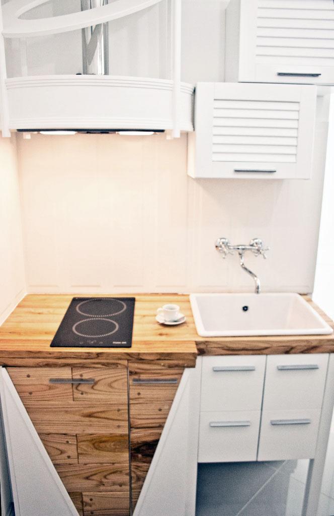 cucina su misura stile industrial falegnameria roma 2