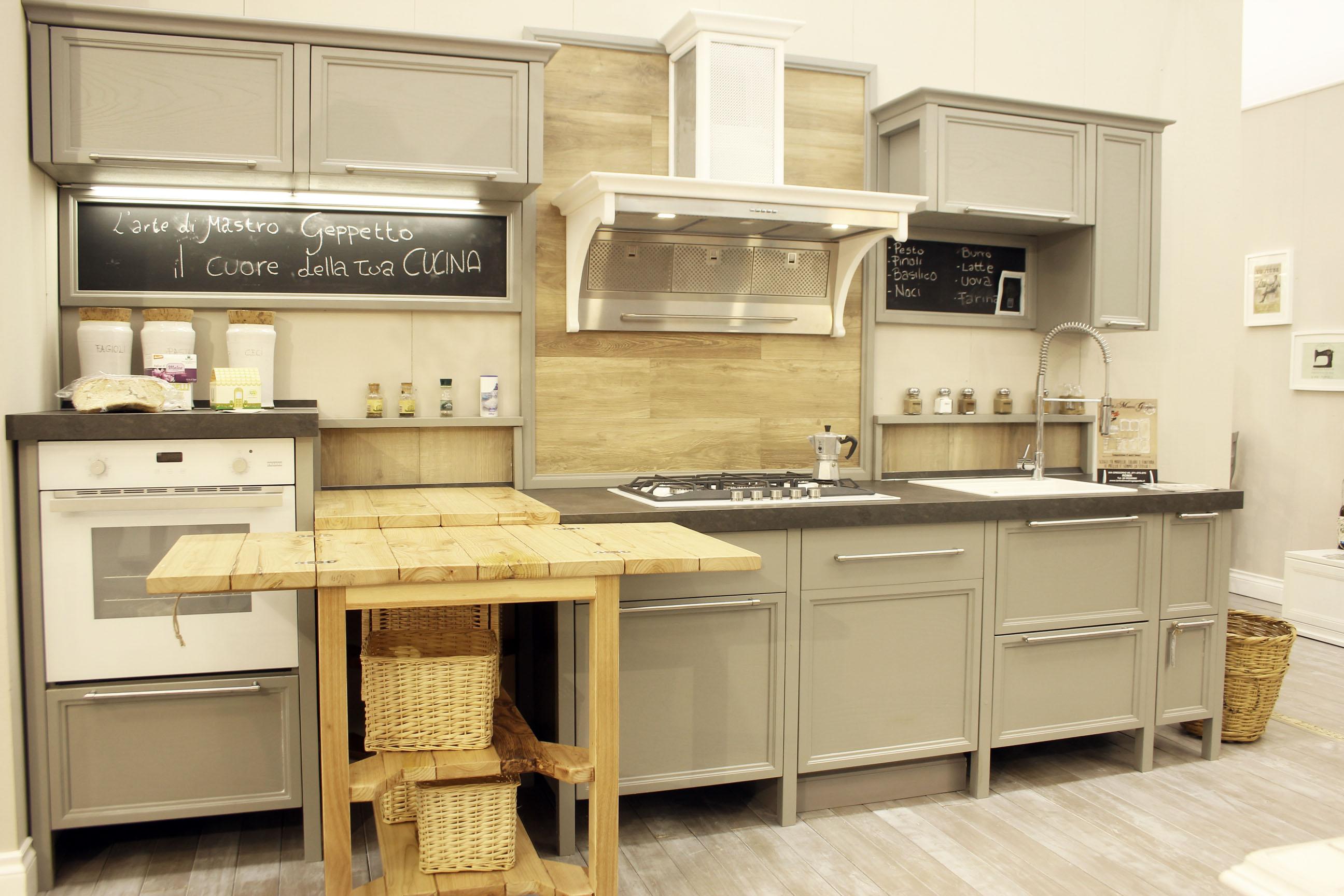 cucina stile industrial falegnameria su misura roma