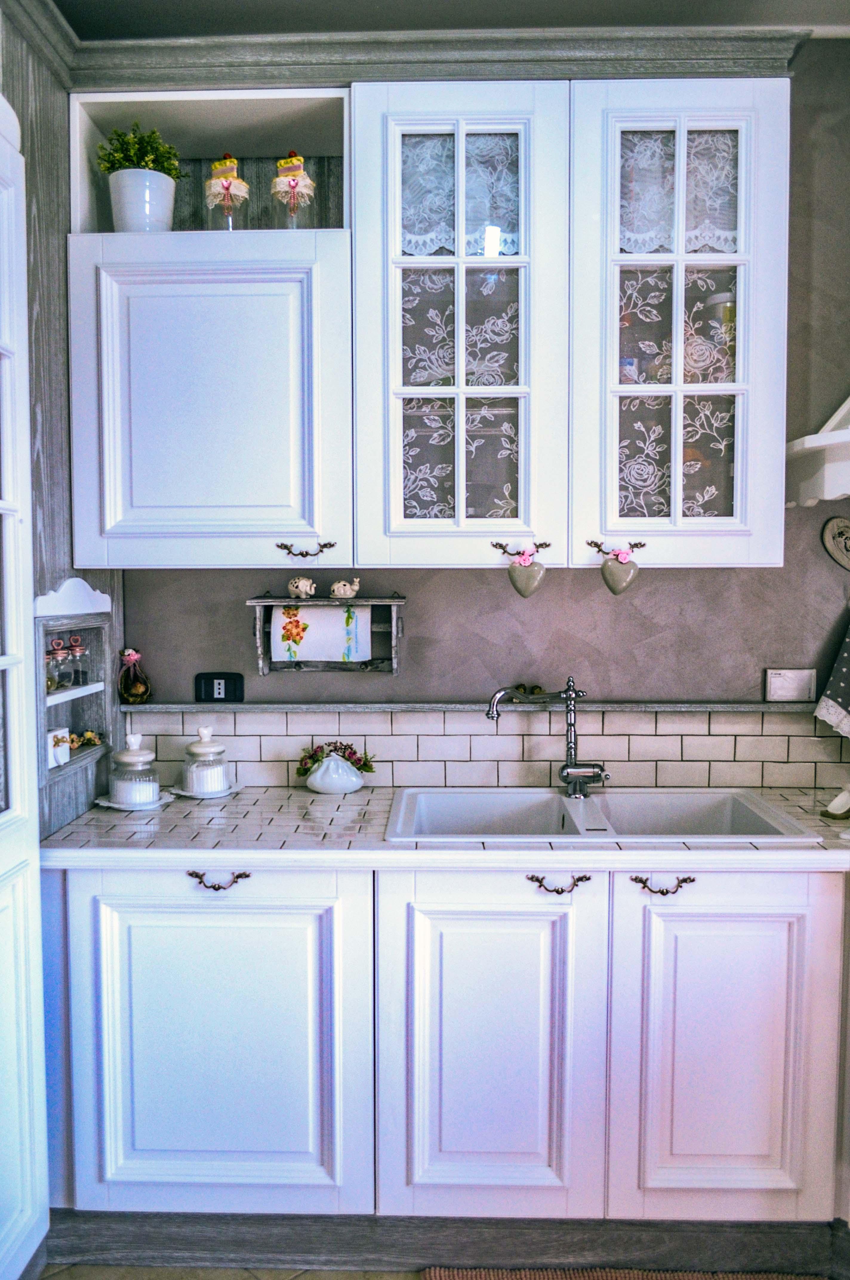 4-cucina shabby chic-su misura- cucina i