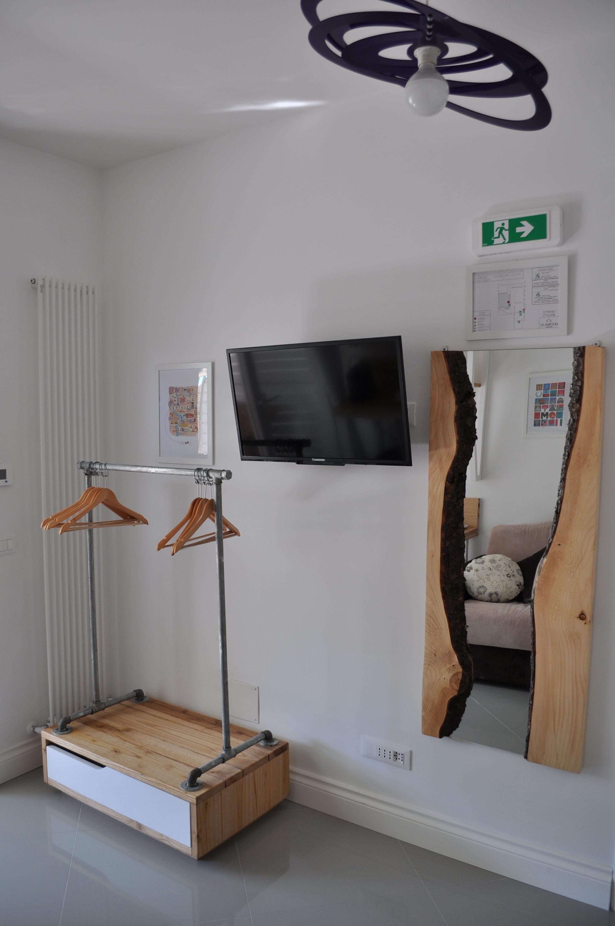 Camera letto su misura falegnameria roma (5)