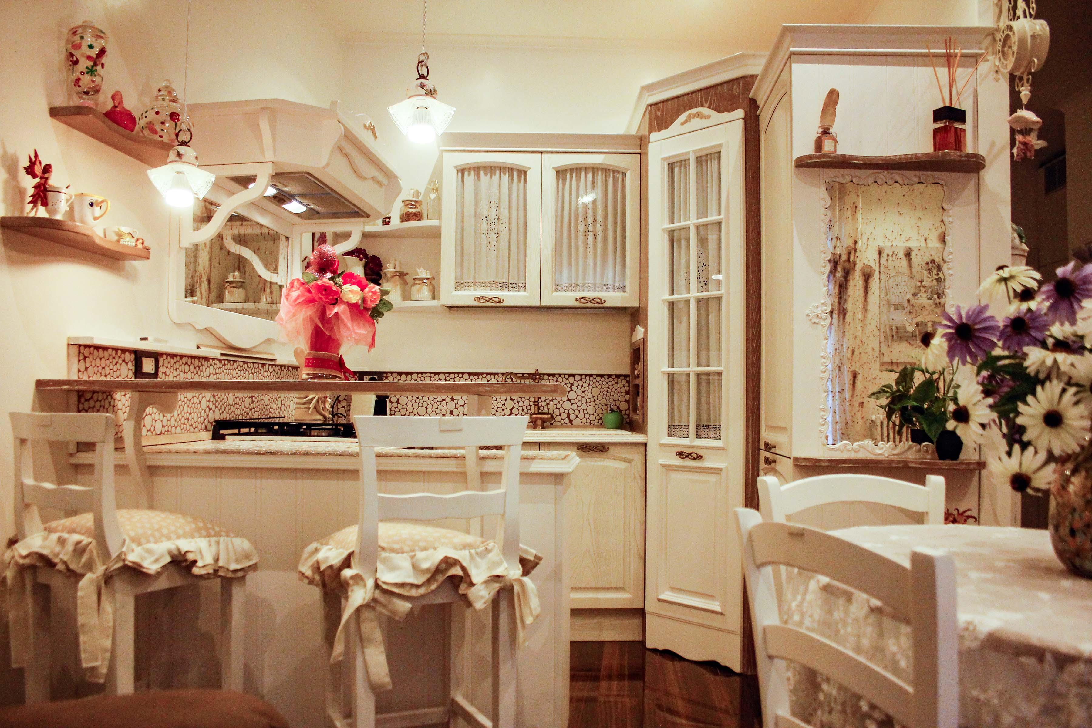 4-cucina shabby chic-su misura-falegname