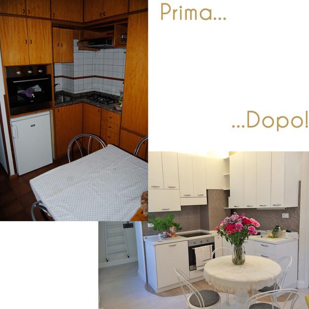 Idee per rinnovare la tua casa cucine e arredi su misura ridipingere la cucina - Ridipingere la cucina ...