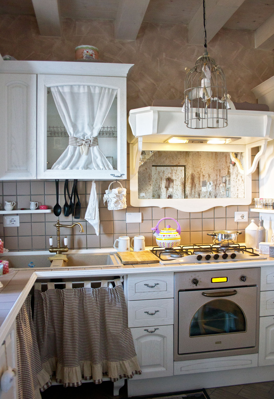 cucina su misura provenzale roma falegnameria 2