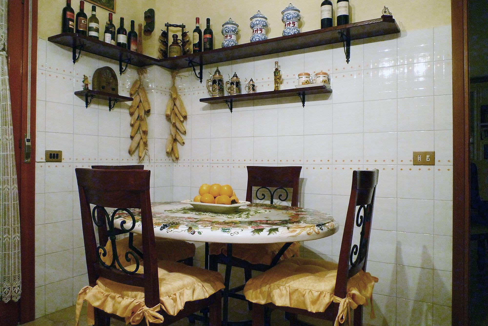 cucina su misura stile country falegnameria roma 1