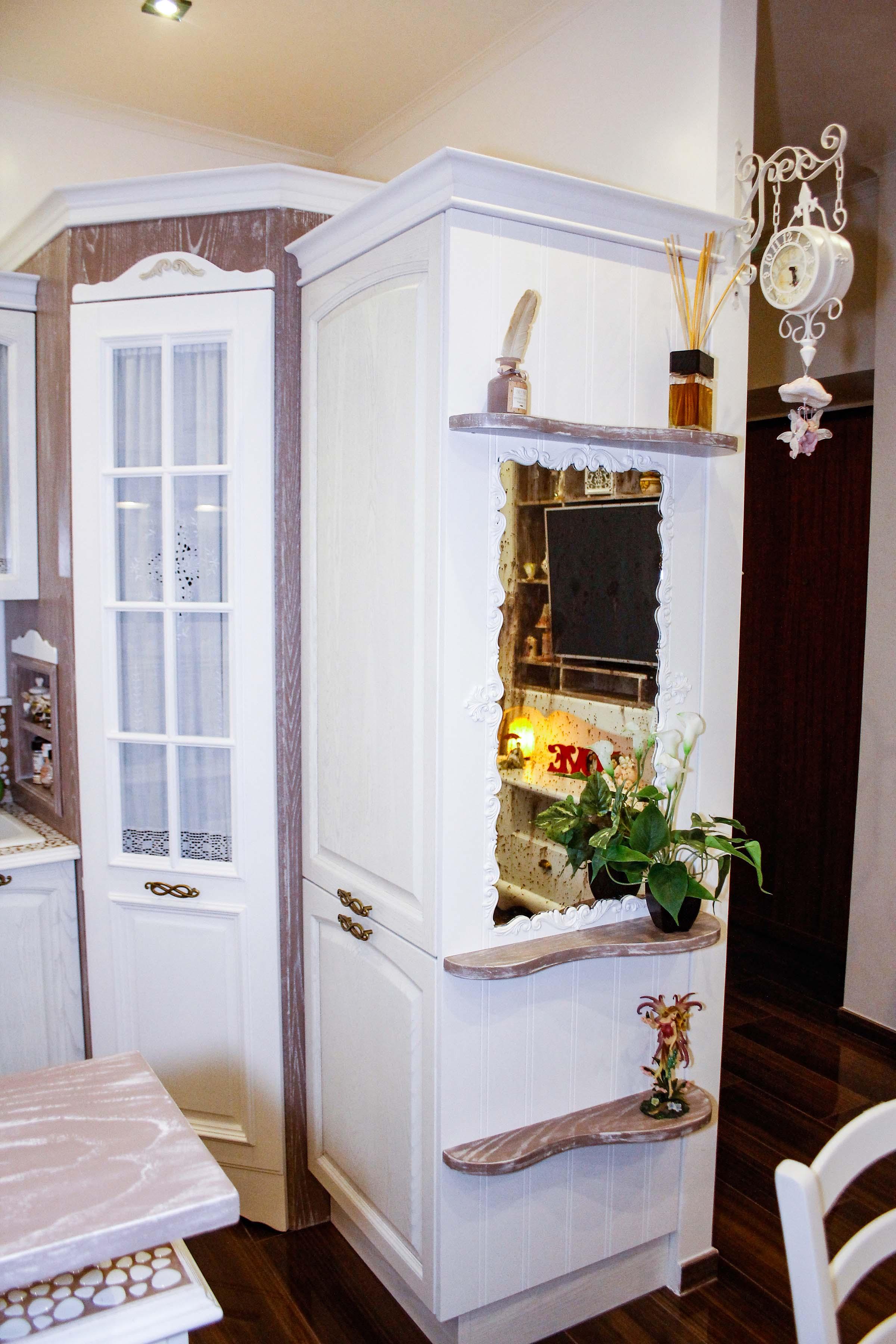2-cucina shabby chic-su misura-falegname