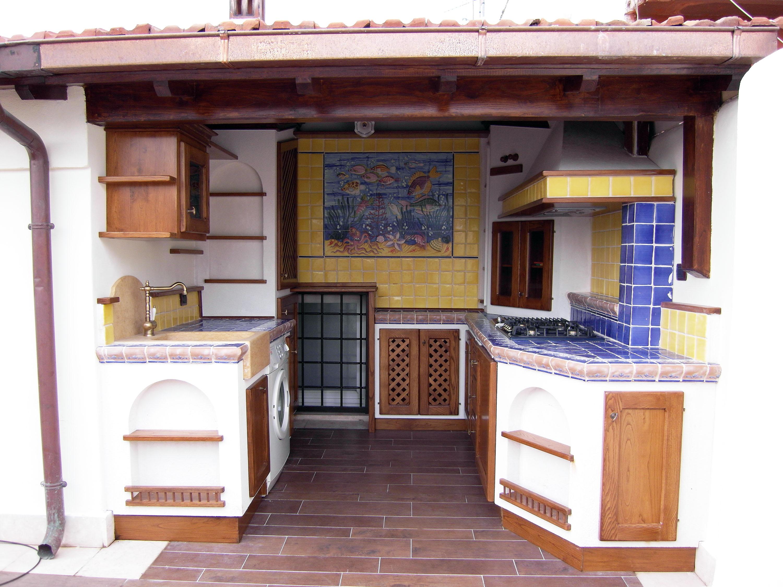 cucina stile country su misura roma falegnameria