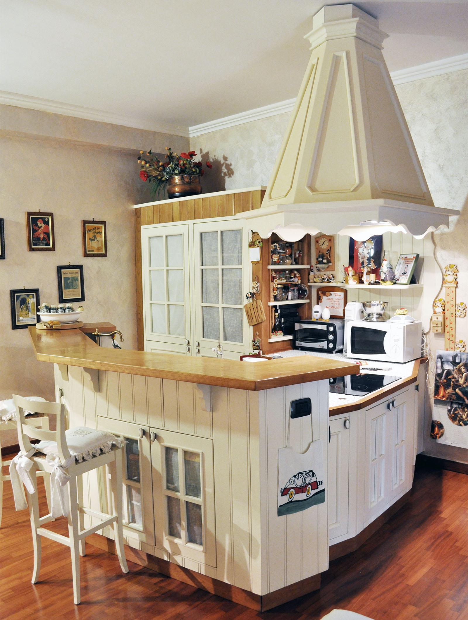 cucina stile country su misura roma falegnameria 3