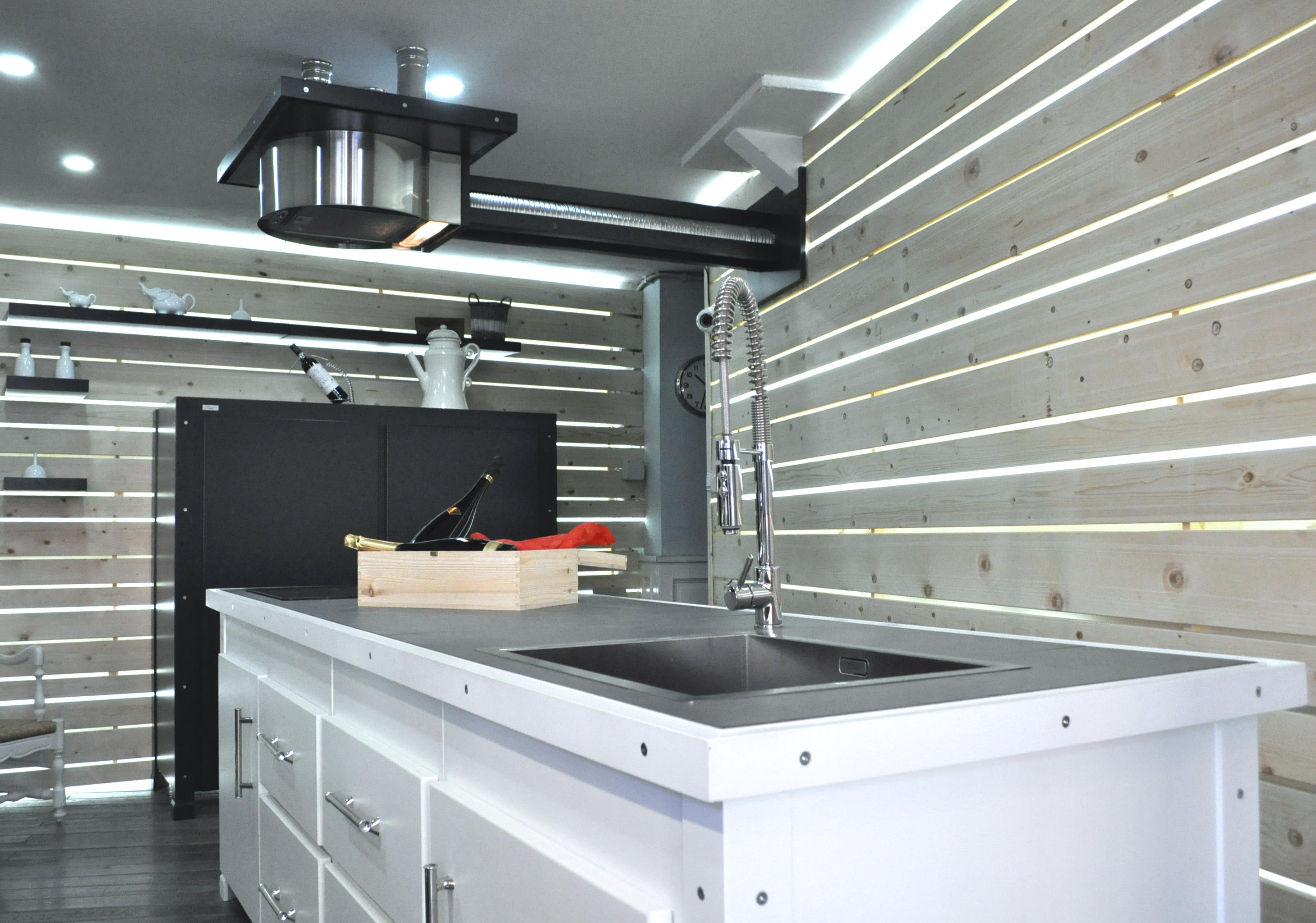 Cucina su misura Industrial-Falegnameria roma_1