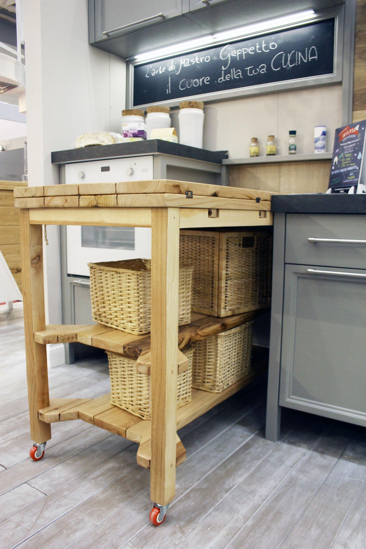 cucina stile industrial falegnameria su misura roma 2