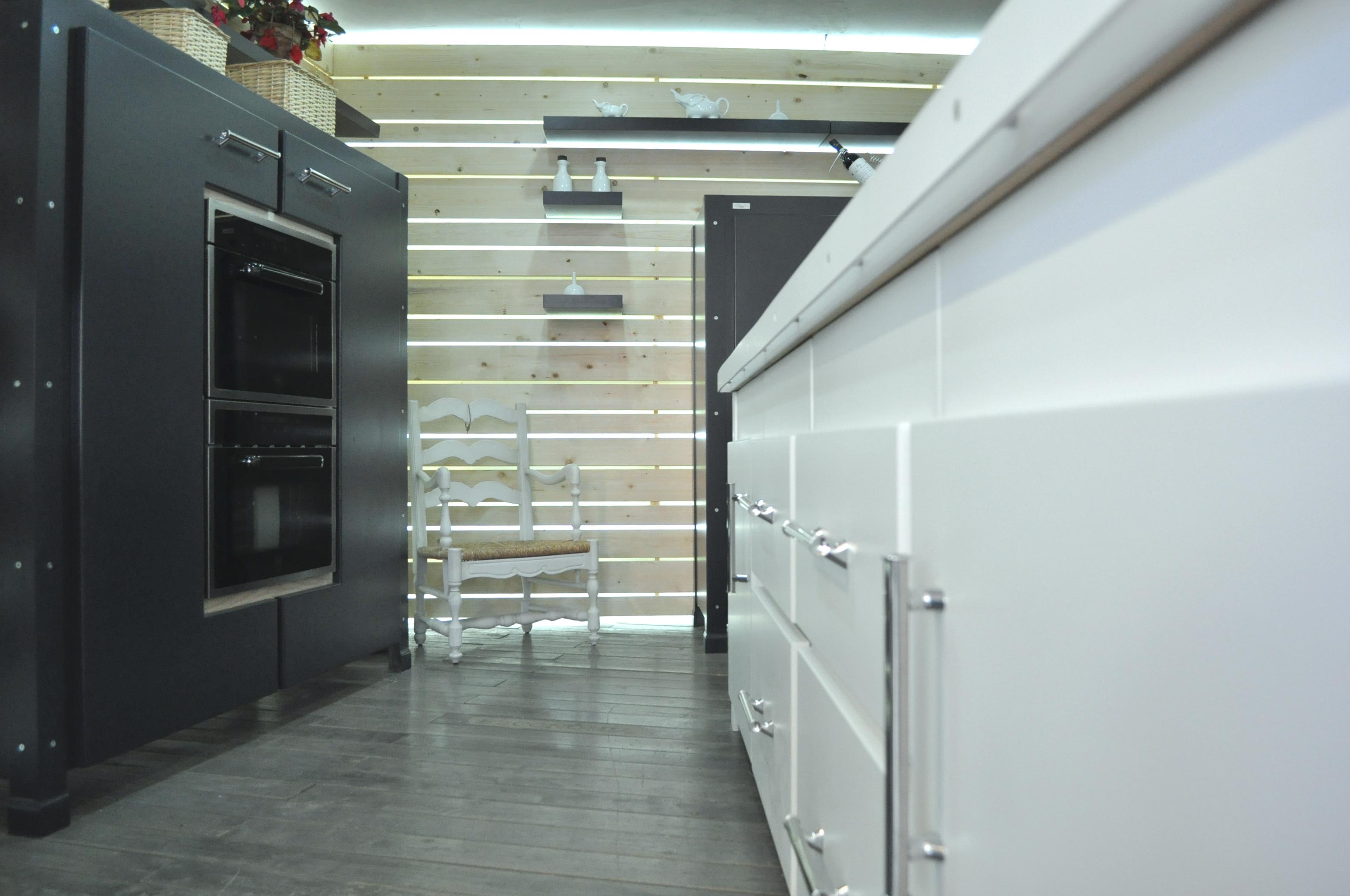 Cucina su misura Industrial-Falegnameria roma_2