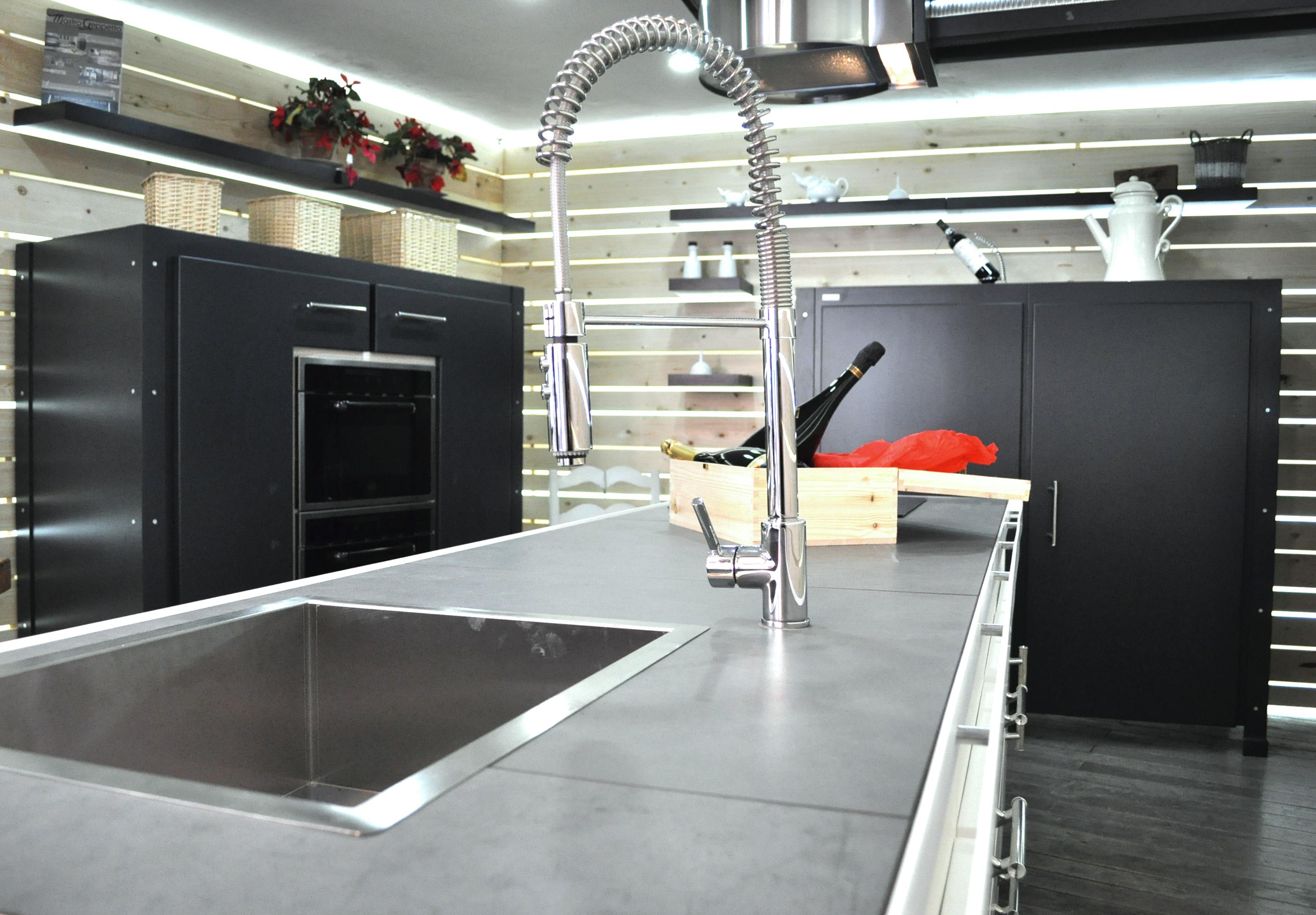 Cucina su misura Industrial-Falegnameria roma_4
