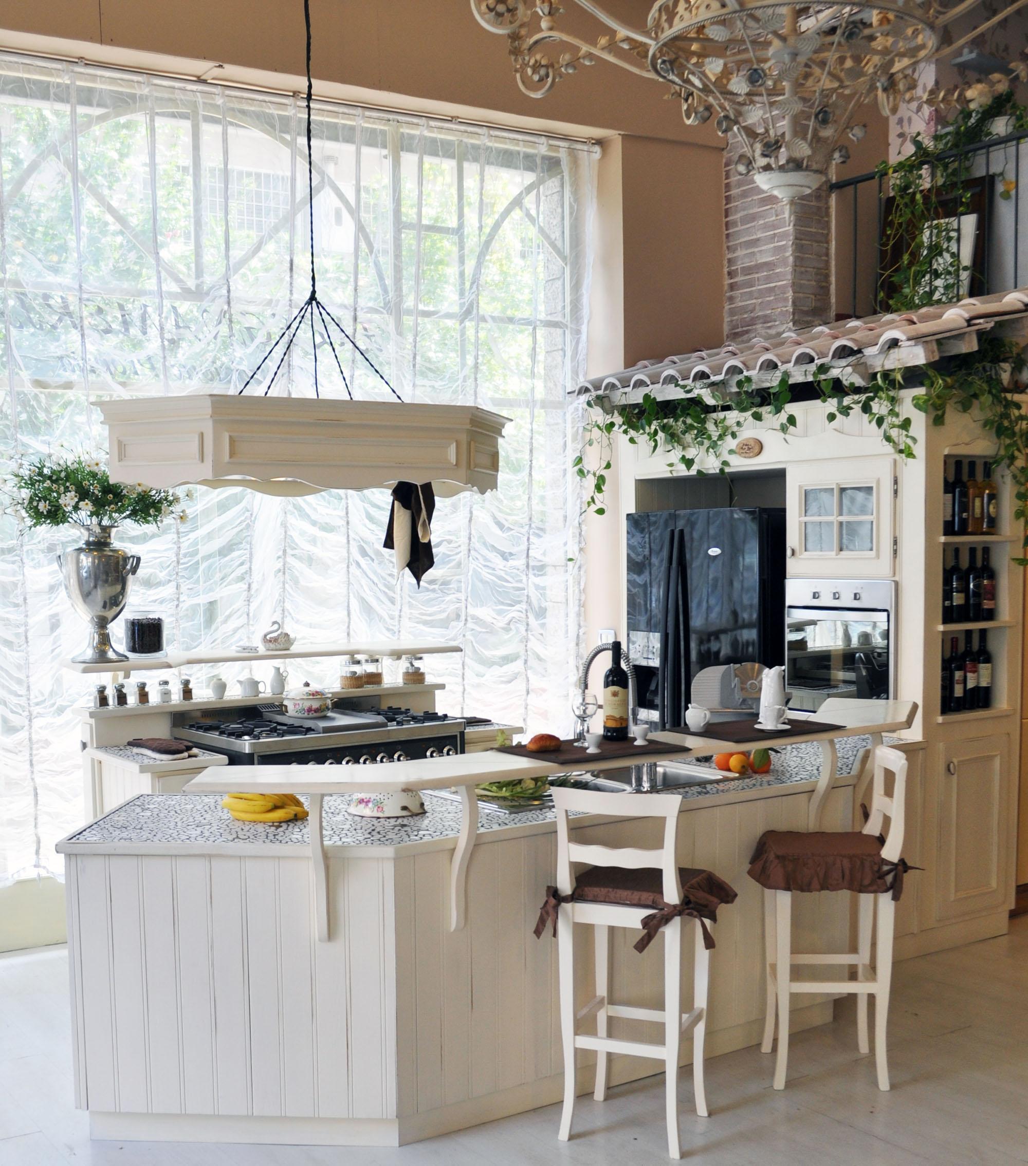 cucina provenzale su misura roma falegnameria