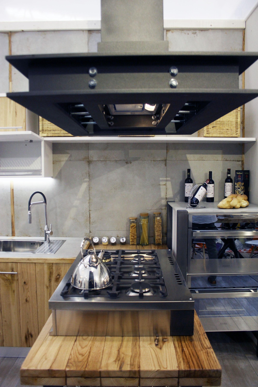 cucina industrial roma falegnameria su misura 2
