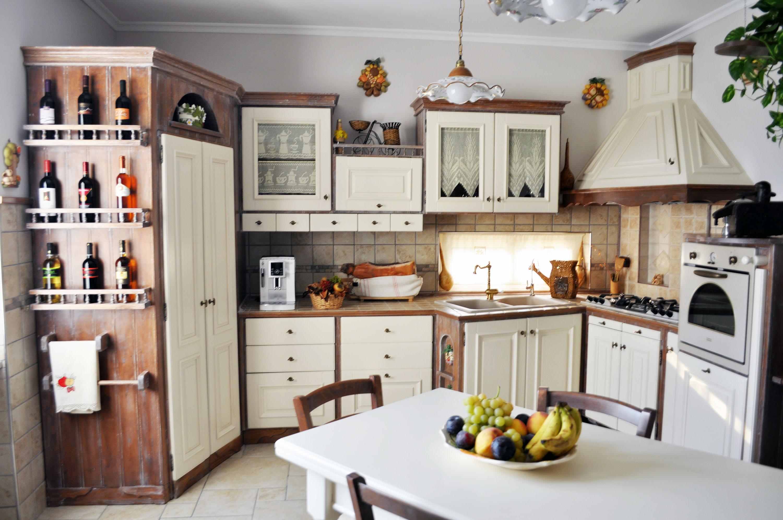 cucina country su misura falegnameria roma 4