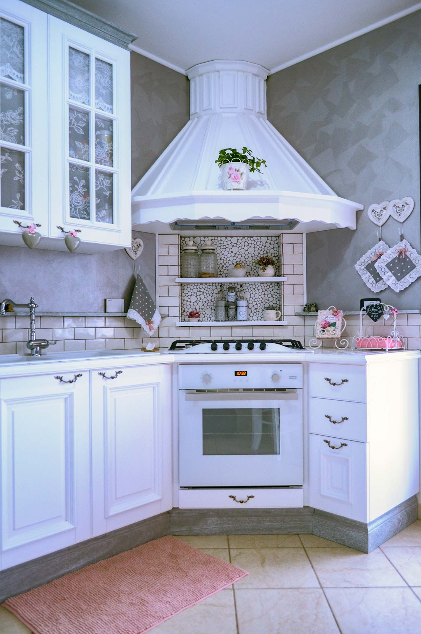 2-cucina shabby chic-su misura- cucina i